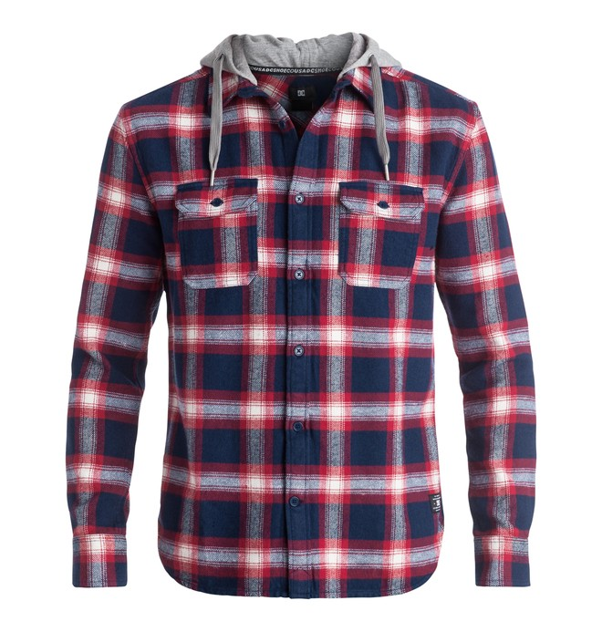 0 Men's Runnels Long Sleeve Shirt  EDYWT03124 DC Shoes