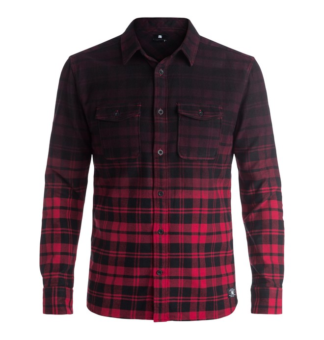 0 Men's Woodale Long Sleeve Shirt  EDYWT03125 DC Shoes