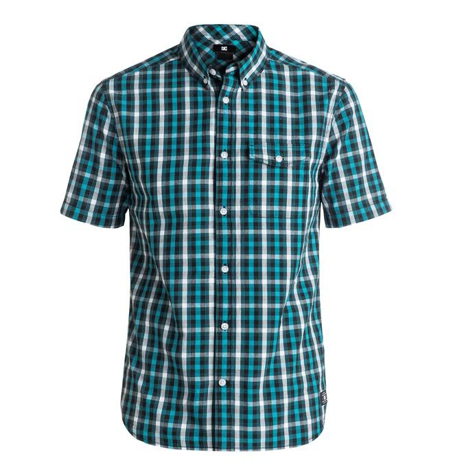 0 Men's Atura 5 Short Sleeve Shirt  EDYWT03133 DC Shoes