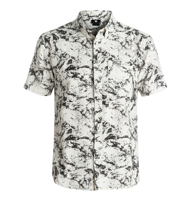0 Odanah - Short Sleeve Shirt White EDYWT03139 DC Shoes