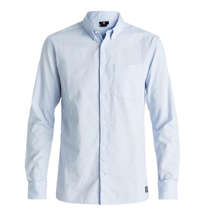 0 Men's Oxford Long Sleeve Shirt  EDYWT03143 DC Shoes