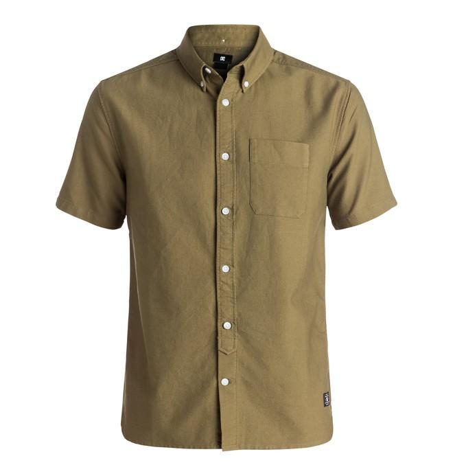 0 Men's Oxford Short Sleeve Shirt  EDYWT03144 DC Shoes
