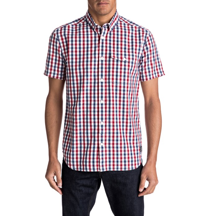 0 Men's High Mays Short Sleeve Shirt  EDYWT03149 DC Shoes