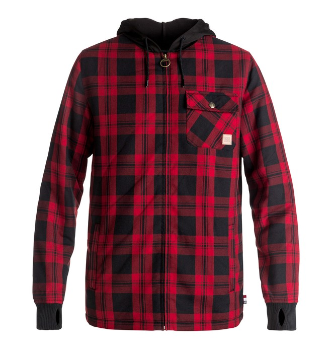 0 Backwoods - Technical Riding Shacket Red EDYWT03154 DC Shoes