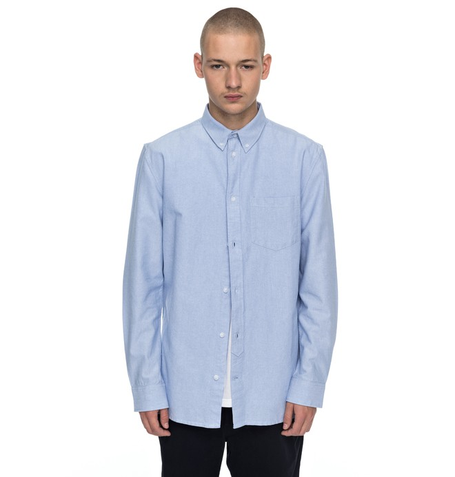 0 Classic Oxford Long Sleeve Shirt  EDYWT03157 DC Shoes