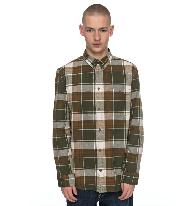 0 South Ferry Long Sleeve Shirt  EDYWT03160 DC Shoes
