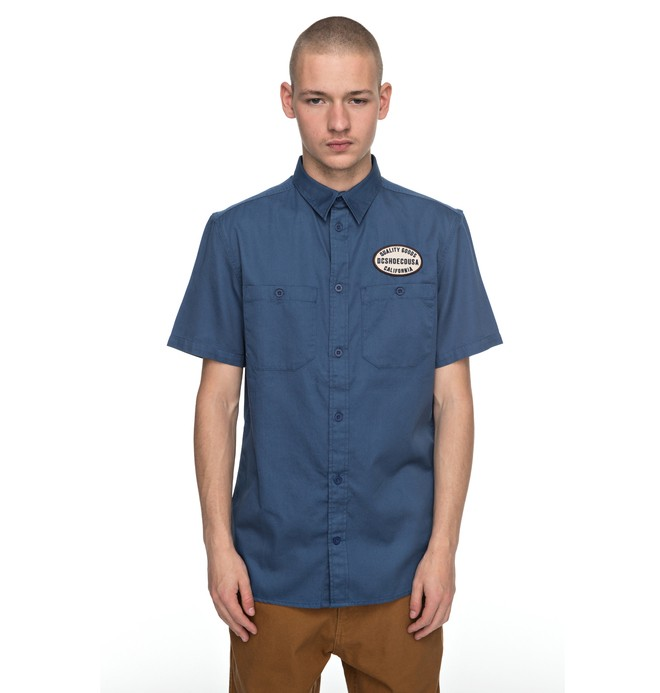 0 Men's Derwent Short Sleeve Shirt  EDYWT03166 DC Shoes