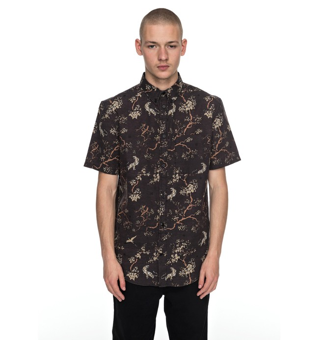 0 Men's Odanah Short Sleeve Shirt  EDYWT03170 DC Shoes