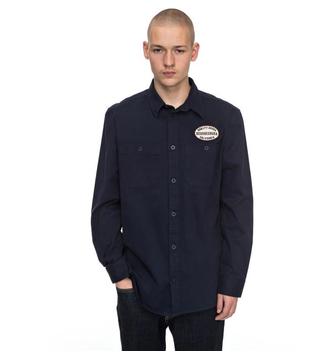 0 Walbottle Long Sleeve Shirt  EDYWT03172 DC Shoes