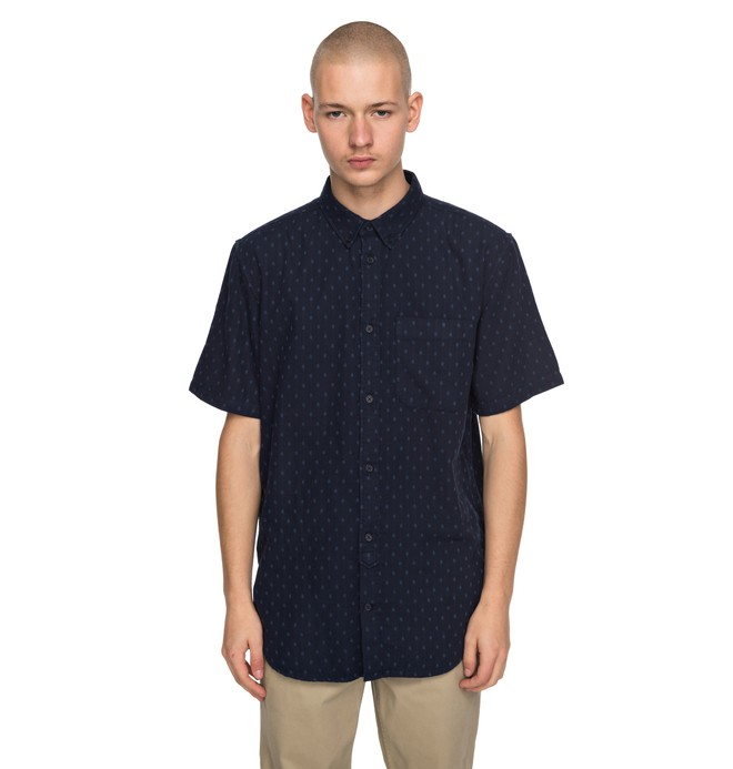 0 Men's Mowbray Short Sleeve Shirt  EDYWT03176 DC Shoes