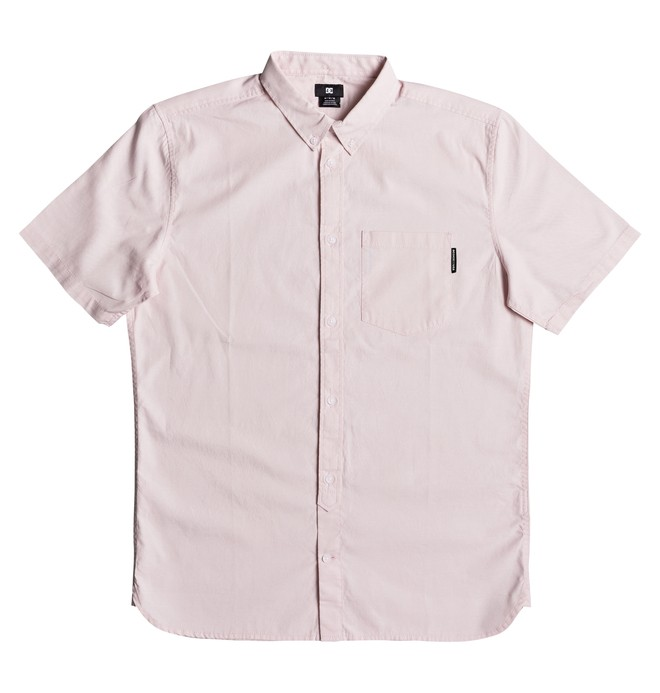 0 Men's Classic Oxford Light Short Sleeve Shirt  EDYWT03184 DC Shoes