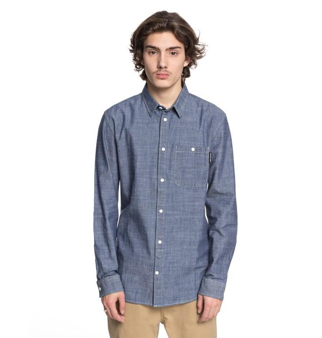 0 Men's Henlow Long Sleeve Shirt  EDYWT03185 DC Shoes