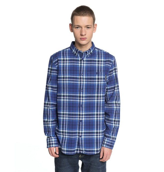 0 South Ferry Long Sleeve Shirt  EDYWT03187 DC Shoes