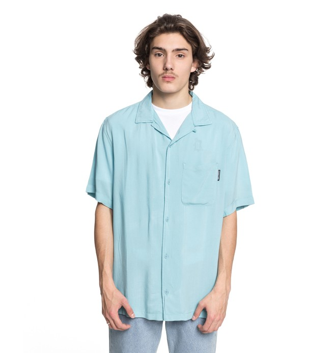 0 Whinney Short Sleeve Resort Shirt  EDYWT03189 DC Shoes