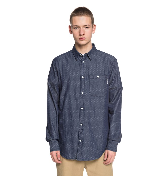 0 Men's Swalendalen 2 Long Sleeve Shirt  EDYWT03190 DC Shoes