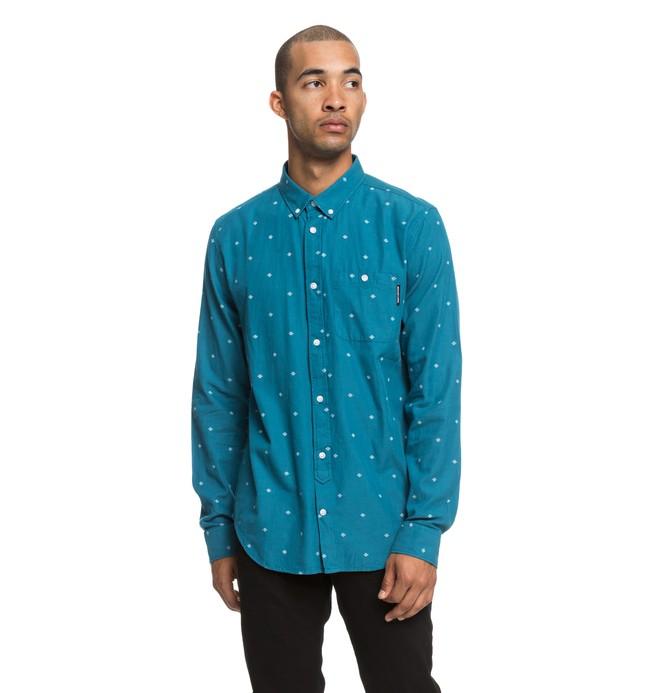 0 Squinter - Camisa de manga larga para Hombre  EDYWT03206 DC Shoes