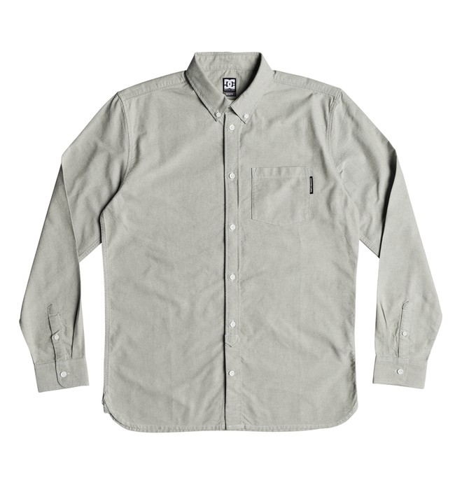 0 The Oxford - Camisa de manga larga para Hombre Azul EDYWT03209 DC Shoes