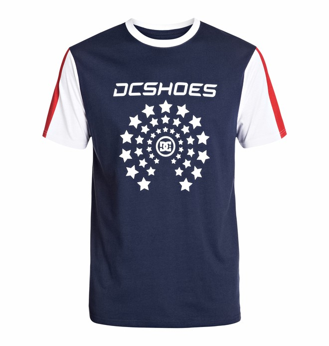 0 Men's Zoomz Short Sleeve Screen Tee  EDYZT03192 DC Shoes