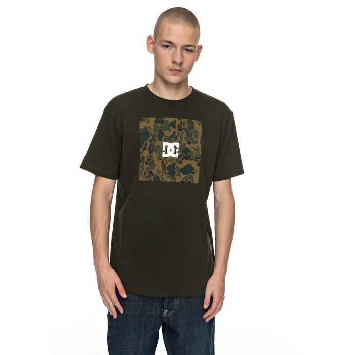 0 Square Boxing - T-Shirt Brown EDYZT03692 DC Shoes