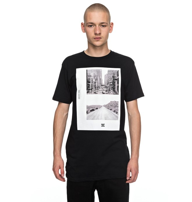 0 Men's Keep Moving Tee Black EDYZT03705 DC Shoes