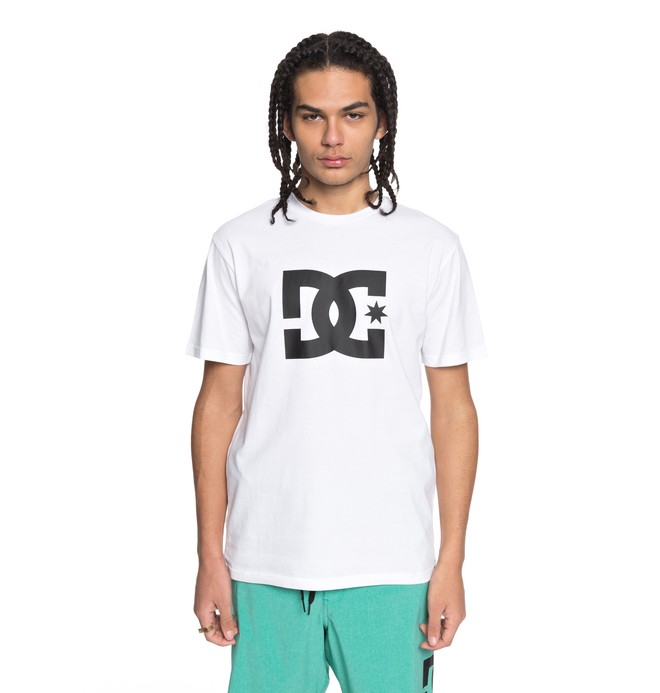 0 Star - T-Shirt for Men White EDYZT03721 DC Shoes