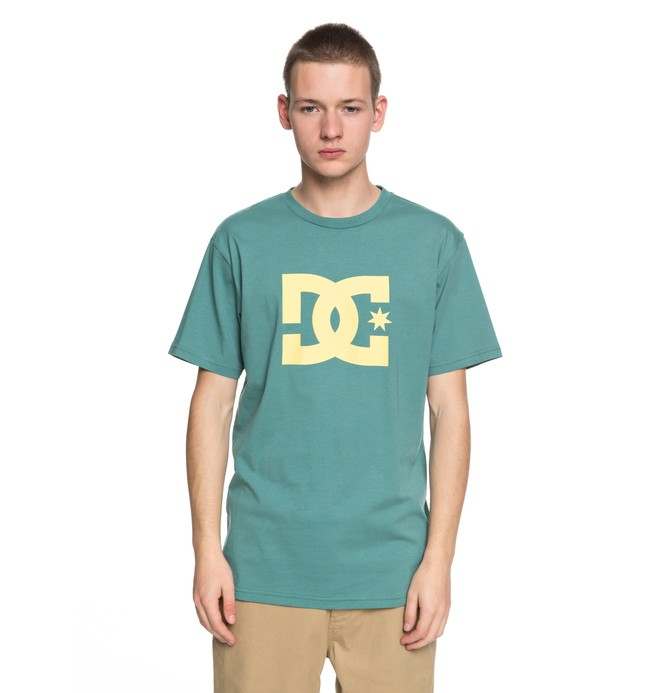 0 Star - T-Shirt Green EDYZT03721 DC Shoes
