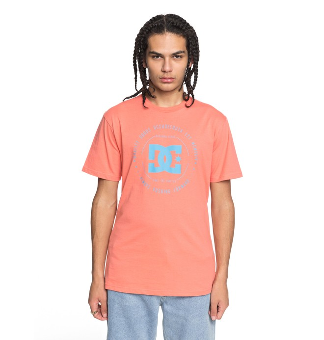 0 Rebuilt - T-Shirt Pink EDYZT03728 DC Shoes