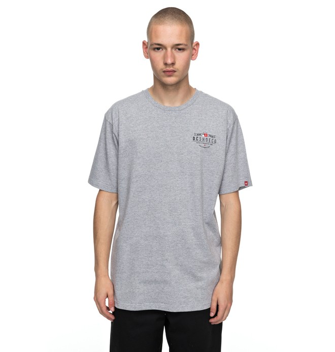 0 Nine Four Flag - T-Shirt Schwarz EDYZT03730 DC Shoes