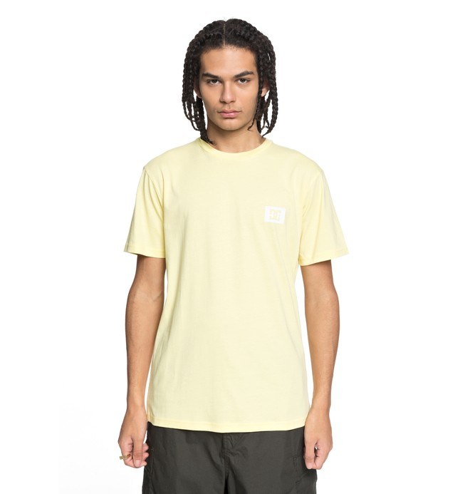 0 Stage Box - T-Shirt for Men Yellow EDYZT03742 DC Shoes