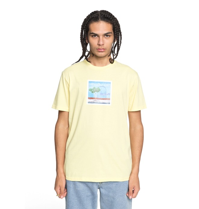 0 Men's Viajero Tee Yellow EDYZT03748 DC Shoes