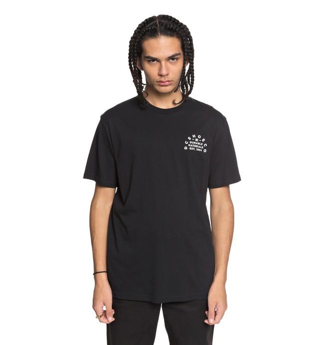 0 Durable Timer - T-Shirt for Men Black EDYZT03755 DC Shoes