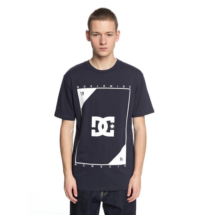 0 Middle Theory - T-Shirt für Männer Blau EDYZT03756 DC Shoes