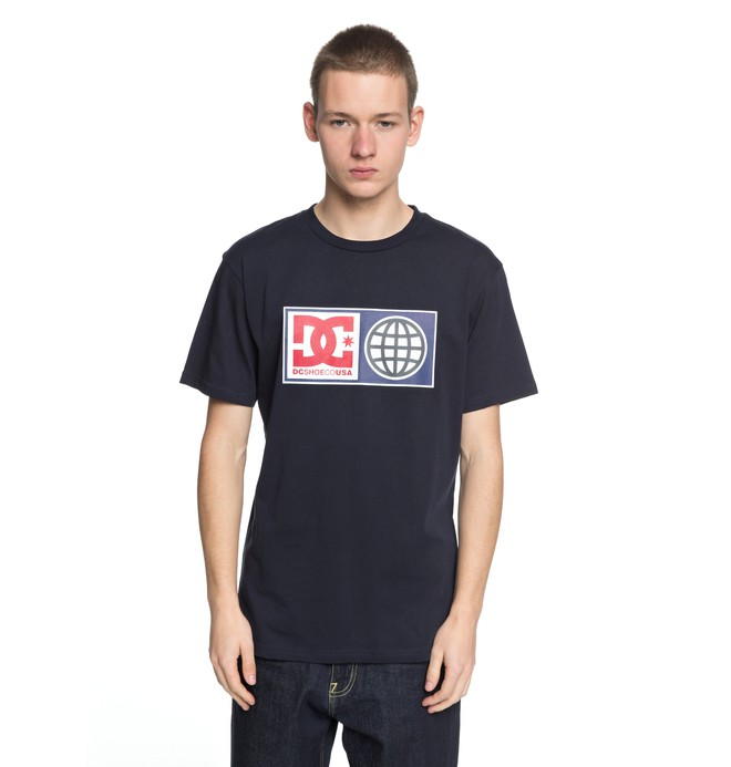 0 Global Salute - T-Shirt für Männer Blau EDYZT03758 DC Shoes
