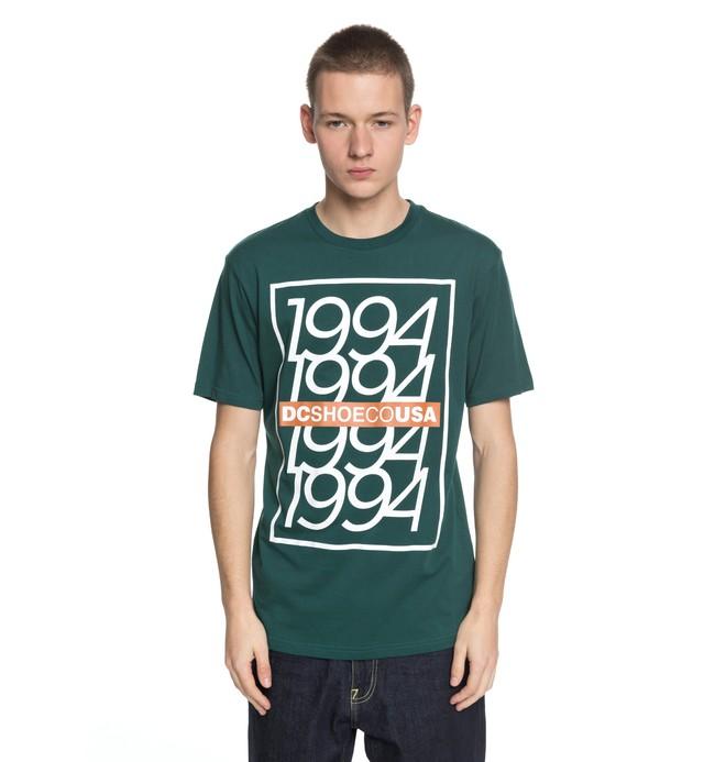 0 Renewal - T-Shirt Green EDYZT03759 DC Shoes