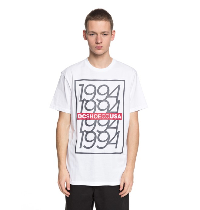 0 Renewal - T-Shirt White EDYZT03759 DC Shoes