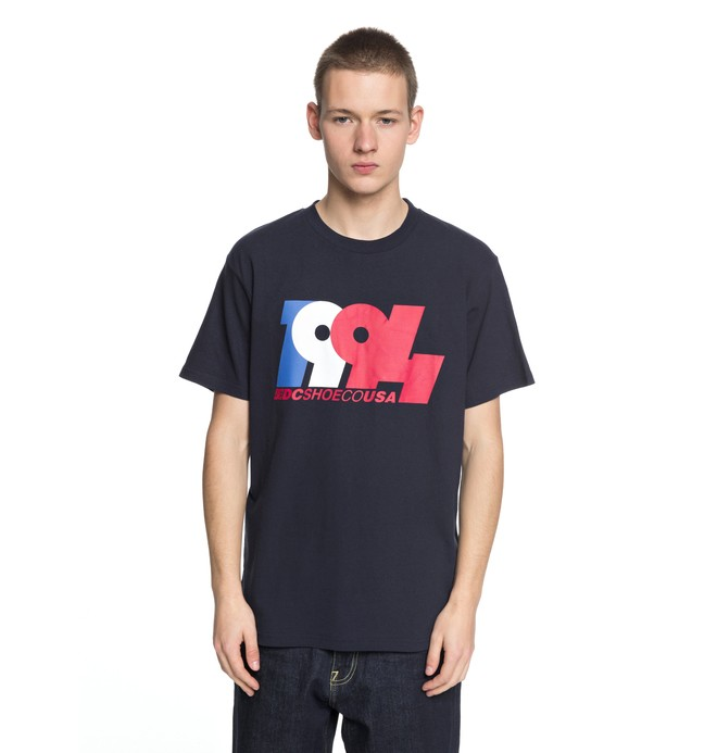 0 Graduate In 94 - T-Shirt Blue EDYZT03762 DC Shoes