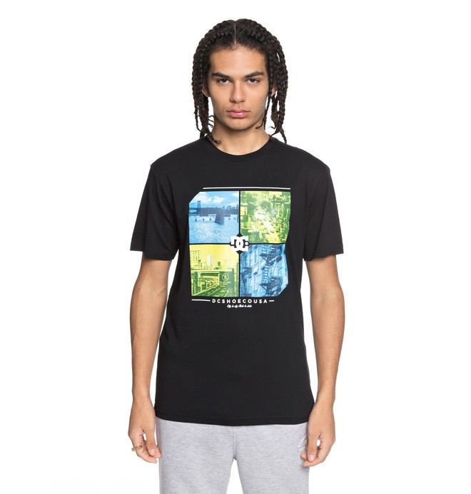 0 City To State - T-Shirt for Men Black EDYZT03765 DC Shoes