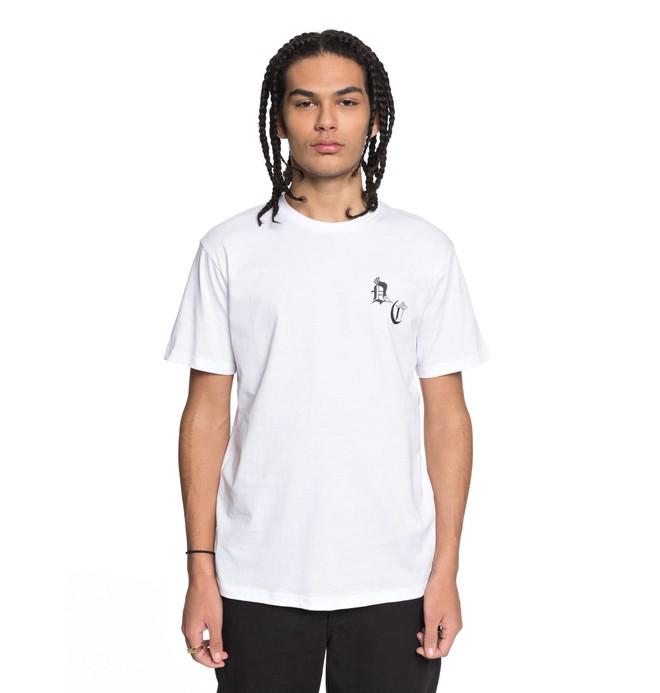 0 DC Sugihara Battle - T-Shirt for Men White EDYZT03796 DC Shoes