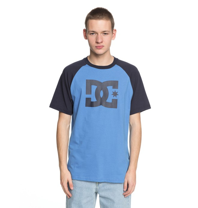 0 Star - T-Shirt Blue EDYZT03802 DC Shoes