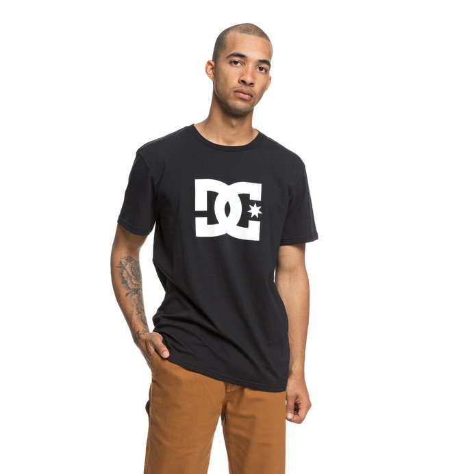 0 Star - T-Shirt voor Heren Black EDYZT03822 DC Shoes