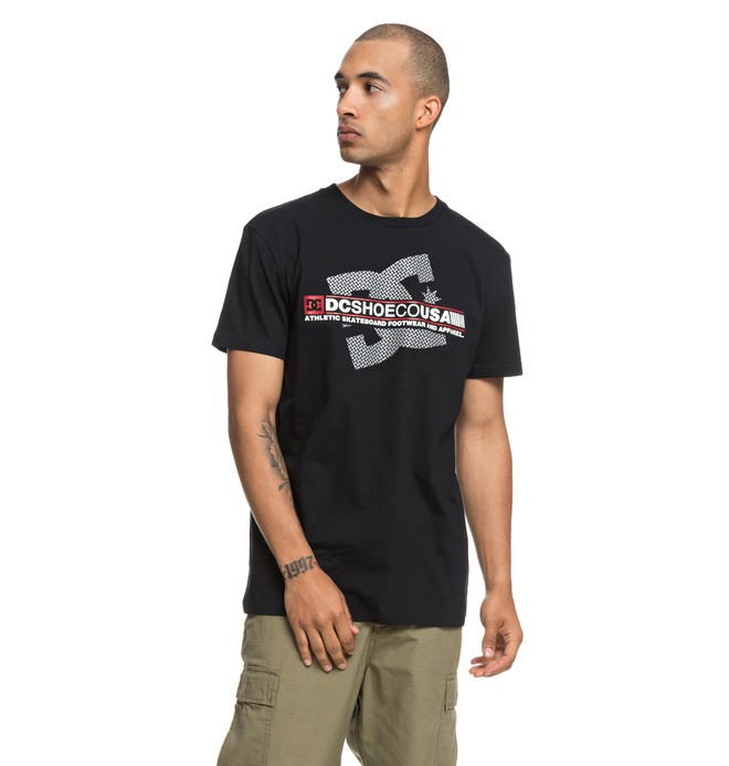 0 Destroy Advert - Camiseta para Hombre Negro EDYZT03839 DC Shoes