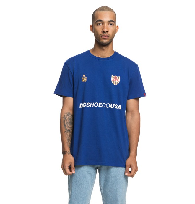 0 Hit Squad - T-Shirt for Men Blue EDYZT03863 DC Shoes