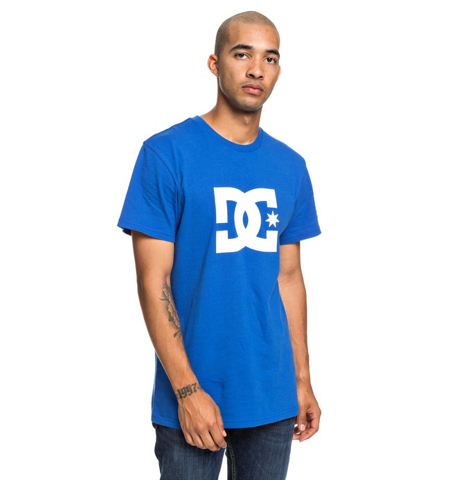 0 Star - T-Shirt for Men Blue EDYZT03900 DC Shoes