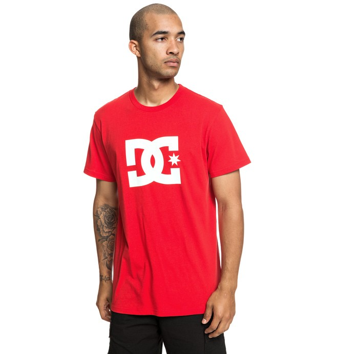 0 Star - T-Shirt for Men Red EDYZT03900 DC Shoes