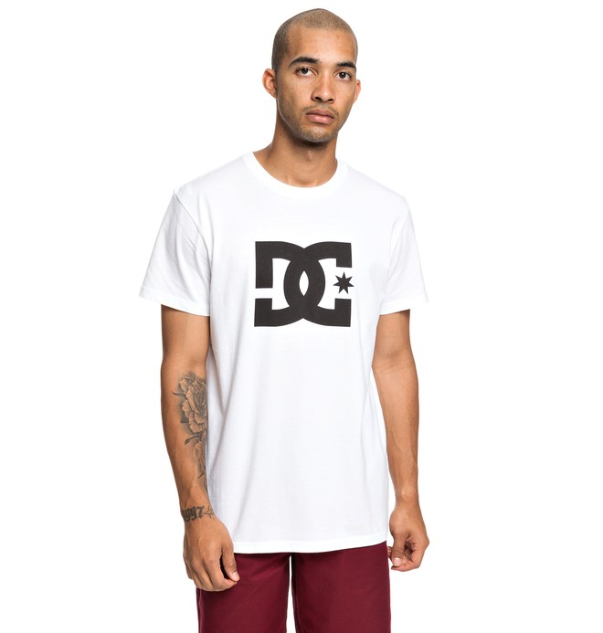 0 Star - T-Shirt for Men White EDYZT03900 DC Shoes