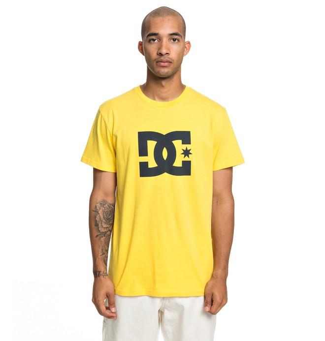 0 Star - Maglietta da Uomo Yellow EDYZT03900 DC Shoes