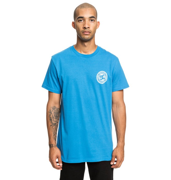 0 Circle Star - T-Shirt für Männer Blau EDYZT03903 DC Shoes