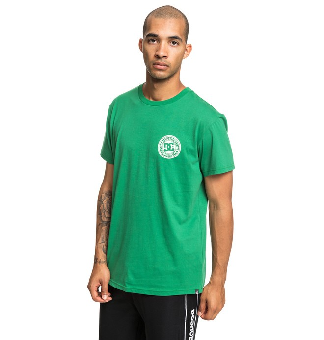 0 Circle Star - T-shirt pour Homme Vert EDYZT03903 DC Shoes