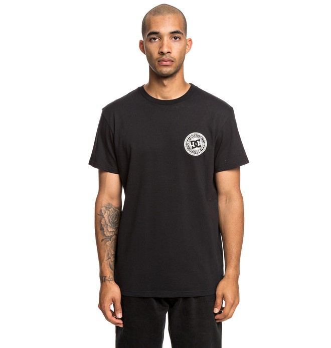0 Circle Star - T-shirt pour Homme Noir EDYZT03903 DC Shoes