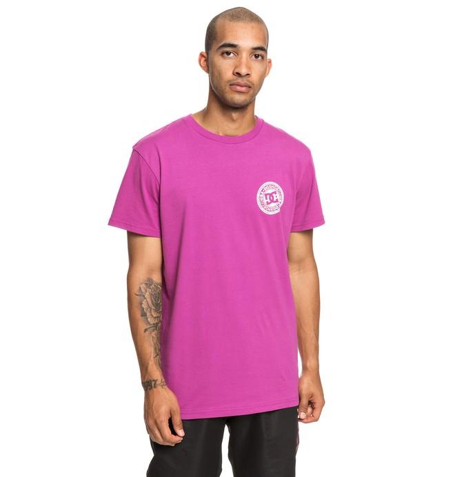0 Circle Star - T-Shirt for Men Pink EDYZT03903 DC Shoes